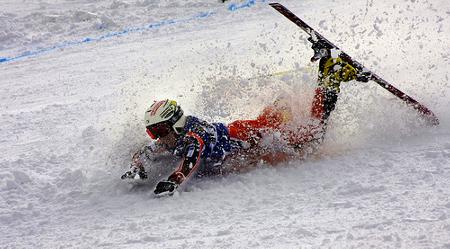 esqui-caida. Fuente: http://termometroturistico.es/